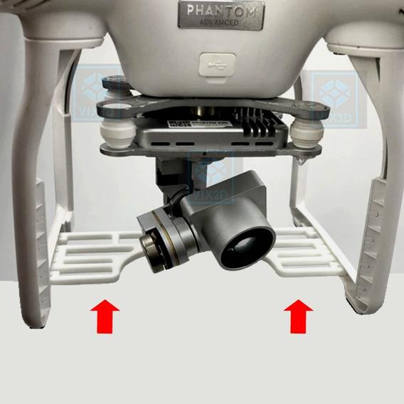 Protetor Câmera Gimbal Dji Phantom 3 Drone Evitar Acidente