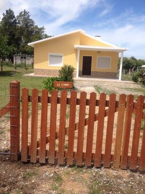 Casa 3 Dormitorios Baño Cocina Comedor Y Living, Terreno