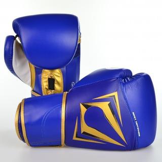 Luva Boxe Best Defense Spartan Tamanho 10 Oz Azul