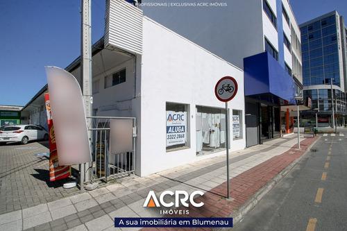 Acrc Imóveis - Loja Térrea Para Locação No Bairro Centro - Lj00173 - 68106485