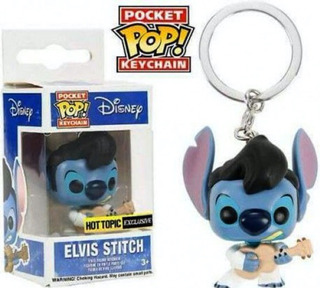 Elvis Stitch Lilo Y Stitch Funko Pop Keychain Llavero