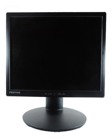 Monitor 17 Polegadas Positivo Bivolt Inclinável Vga E Dvi