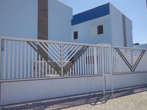 Casa Em Campos Elíseos, Itanhaém/sp De 78m² 2 Quartos À Venda Por R$ 210.000,00 - Ca585800