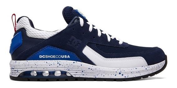 Tenis Dc Shoes Vandium Azul Hombre Originales Nuevos A Meses