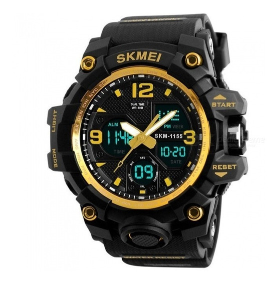 Relógio Masculino Esportivo Skmei 1155-b