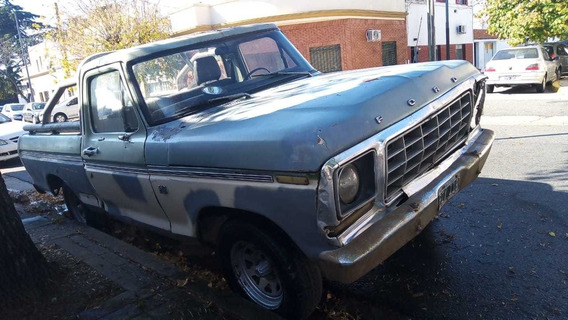Ford F-100 Pick Up Ford 100
