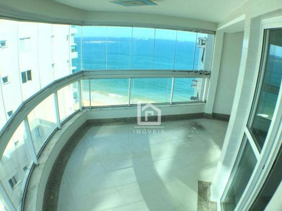 Cobertura Duplex Com 230m² De Frente Para O Mar Na Praia De Itaparica - Co0005