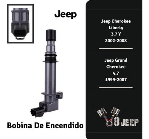 Bobinas De Encendido Jeep  Cherokee Liberty  3.7  Y 4.7