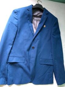 Blazer Social Masculino Azul