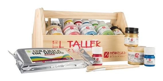 Kit El Taller Para Pintar La Navidad