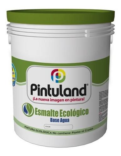 Esmalte Base Agua Pintuland 1/4 Blanco