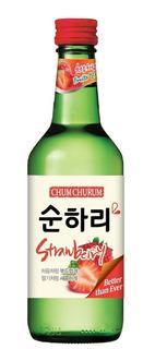 Soju Chum Churum Sabor Frutilla 360 Ml Alcohol Importado