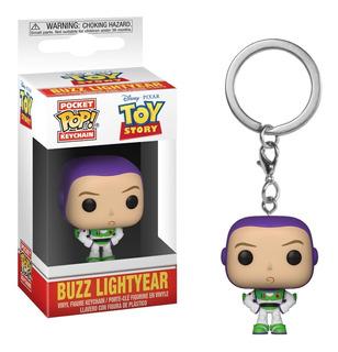 Toys Story Buzz Lightyear Pop Funko Keychain