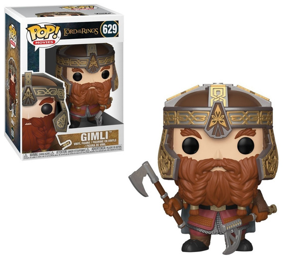 Funko Pop Movies The Lord Of The Rings - Gimli 629