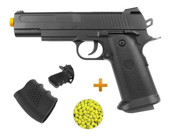 Pistola Airsoft Colt Full Metal 1911 Vigor V18 150fps 6mm Bb