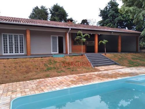 Imagem 1 de 30 de Chácara À Venda, 2500 M² Por R$ 950.000,00 - Chácaras Cardoso - Bauru/sp - Ch0148
