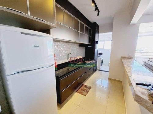 Imagem 1 de 6 de Apartamento Com 2 Dormitórios À Venda, 76 M² Por R$ 490.000,00 - Vila Jaboticabeiras - Taubaté/sp - Ap8822