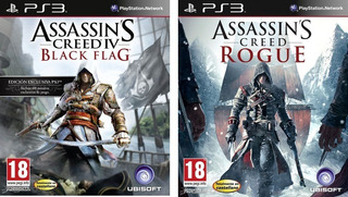 Assassin S Creed Iv Black Flag + Assassins Creed Rogue Ps3
