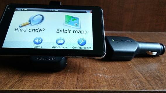 Navegador Gps Garmin Nuvi 3460 Bluetooth Mapa Do Brasil
