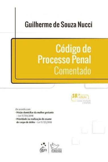 Código De Processo Penal Comentado, Guilherme Nucci