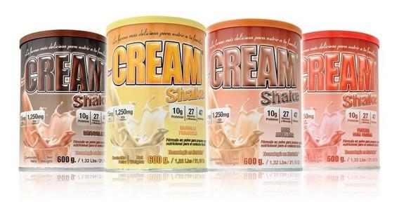 Cream Shake 600 G Suplemento En Polvo Infantil Familiar Fnt