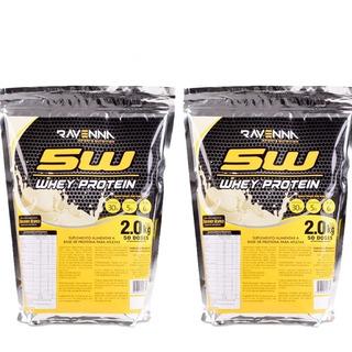 Combo Whey Protein 4kg (refil) Barato