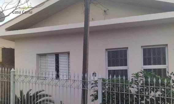 Casa Com 2 Dormitórios Para Alugar, 140 M² Por R$ 850,00/mês - Vila Paraíso - Mogi Guaçu/sp - Ca1435