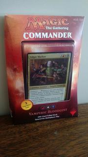 Magic Commander 2017 Vampiric Bloodlust Edgar Markov Sellado