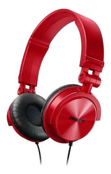 Fone De Ouvido Philips Shl 3050 Vermelho ( Lacrado )
