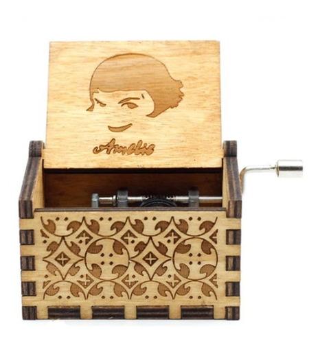 Caja Musical De Amelie De Madera