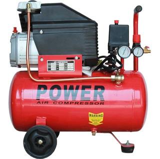 Compresor De Aire Power De 2.0hp 24 Litros