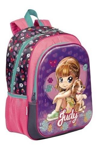 Mochila Escolar Judy G 3d 18x Infantil Sestini