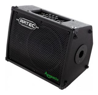 Amplificador Artec Guitarra Acustica 50w 2 Canales Cuotas