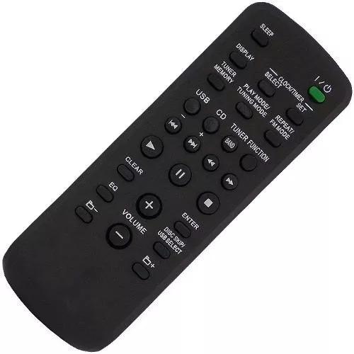 Controle Remoto Aparelho De Som Sony Rm-sc50us