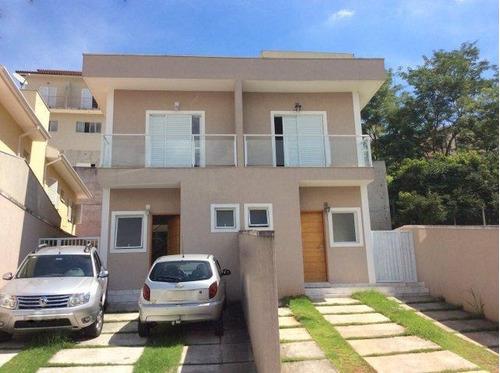 Casa Com 3 Dormitórios À Venda, 142 M² Por R$ 535.000,00 - Vila D'este - Cotia/sp - Ca1844