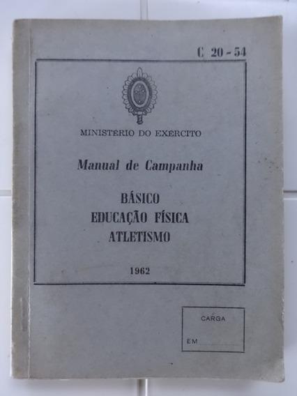 Manual De Campanha Básico Educação Física Atletismo Exército