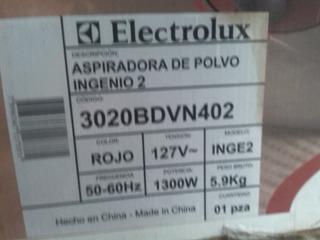 Aspiradora De Polvo Electrolux Ingenio 2 Nueva Leer Descrip