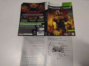 Para Xbox 360 Gears Of War Judment Com Defeito Arranhado