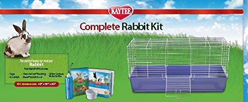 Kaytee Mi Primera Casa Y Conejo Kit Completo Fiesta, De 42 P