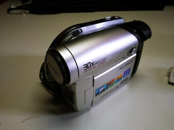 Filmadora Samsung Sc-dc163 C/ Acessórios