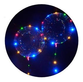 Globo Luminoso Led Cristal Alambre 30 Leds 3 Metros Colores