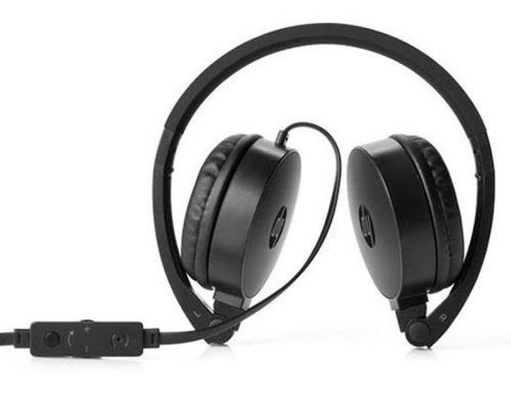 Fone De Ouvido Com Microfone Dobrável Hp H2800 Envio Imediat