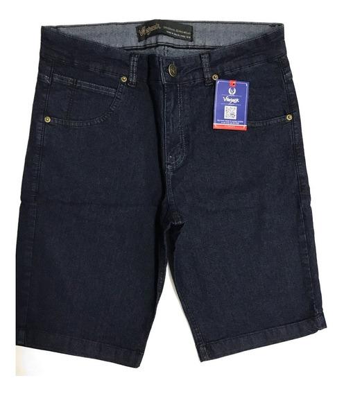 Bermuda Jeans Masculina Tradicional Vilejack Com Lycra