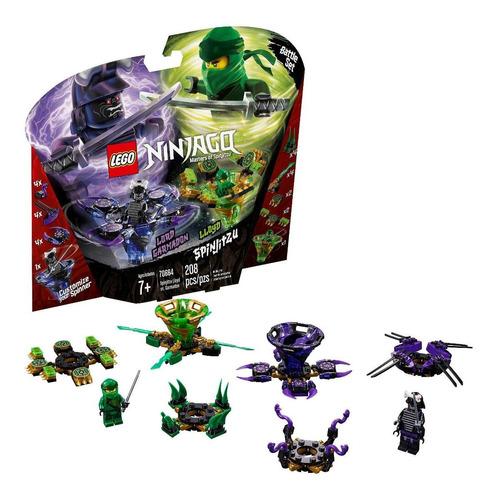 Set De Construcción Lego Ninjago Spinjitzu Lloyd Vs