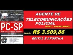 Agente De Telecomunicações Da Policia Civil São Paulo 2018