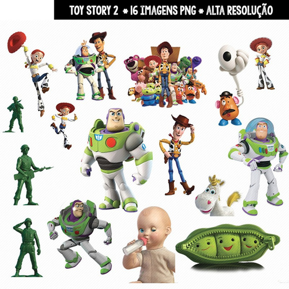 Kit Imprimible Toy Story 43 Imagenes Clipart