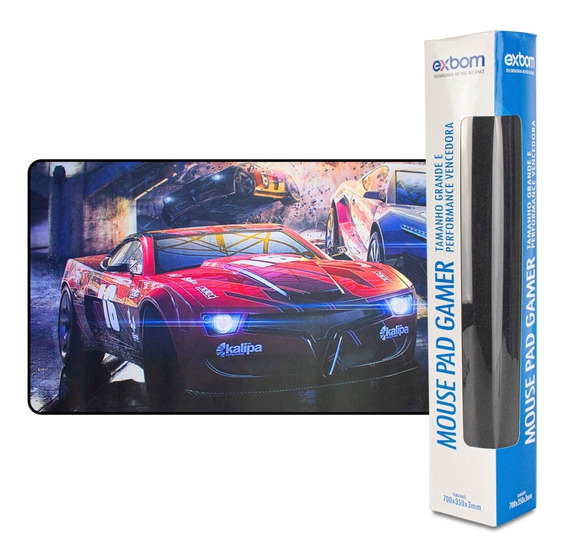 Mousepad Grande Gamer 90x40 Cm Pra Teclado E Mouse Barato