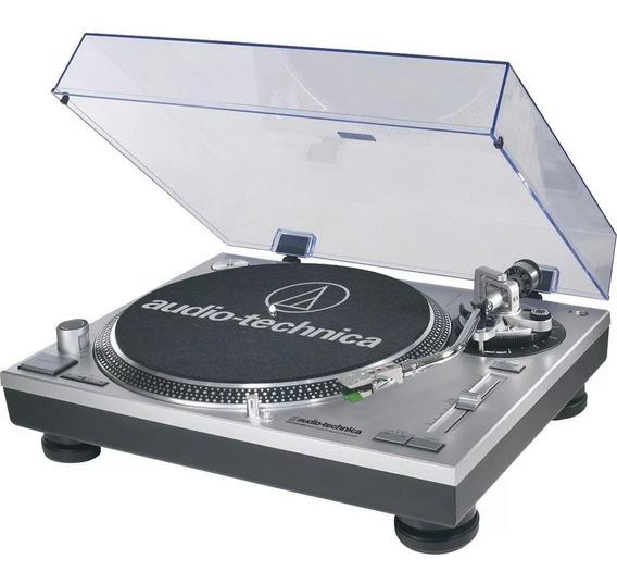 Toca Disco Audio Technica At-lp120s Prata Usb