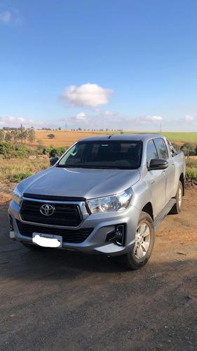 Imagem 1 de 6 de Toyota Hilux 2019 2.8 Sr Cab. Dupla 4x4 Tdi Aut. 4p