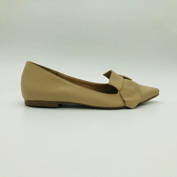 Sapatilha Bico Fino Mozione Sapato Conforto Macio